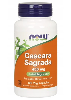 NOW Cascara Sagrada 450 mg.